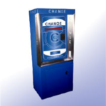 Floor Standing Change Machines